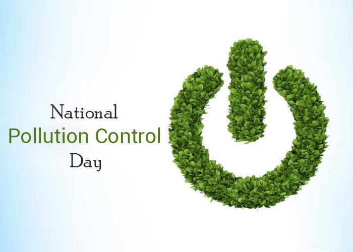 राष्ट्रीय प्रदूषण नियंत्रण दिवस