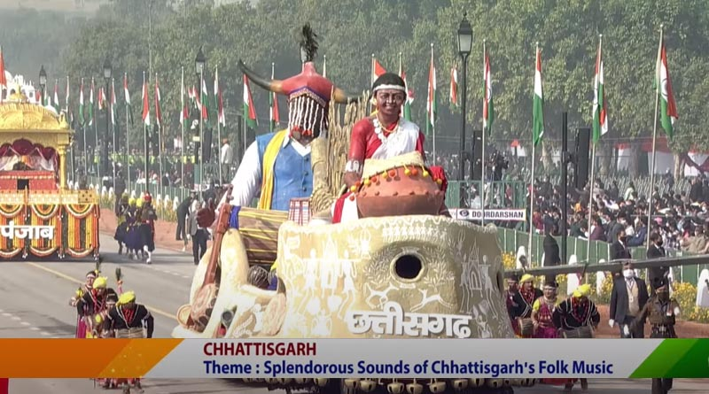 Chhattisgarh Tableau