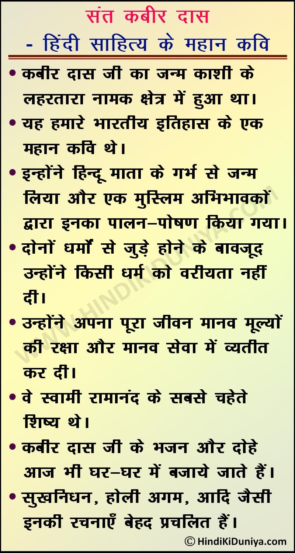 Essay on Kabir Das