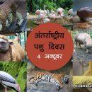 अंतर्राष्ट्रीय पशु दिवस