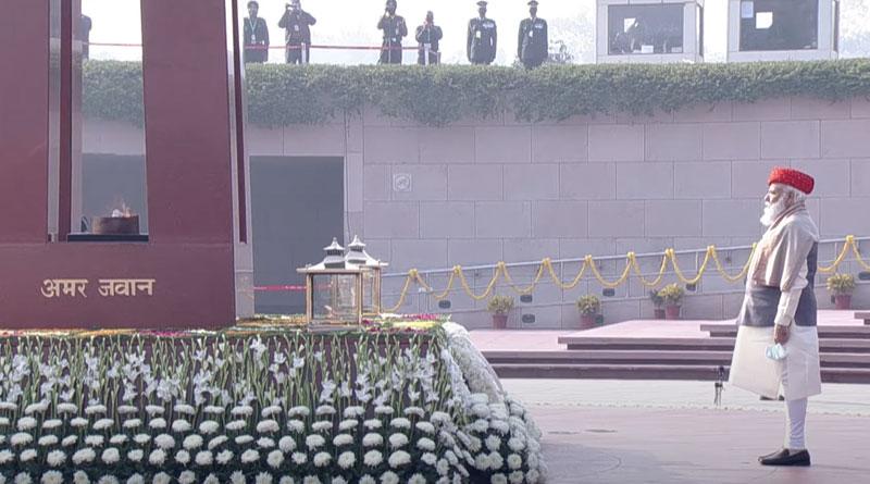 Prime Minister at Amar Jawan