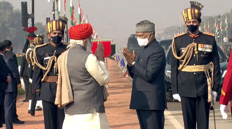 Prime Minister Welcoming President