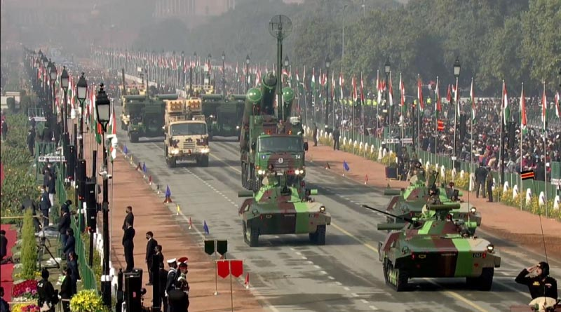 Tanks in Parade
