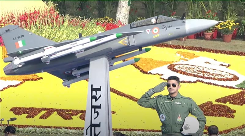 Tejas Fighter In Parade